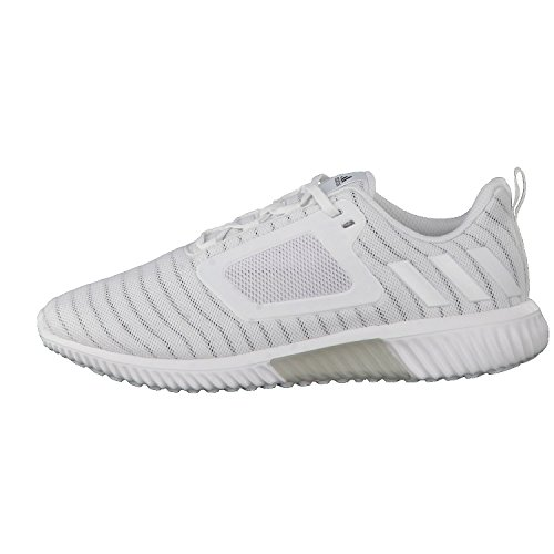 Adidas ClimaCool cm–Chaussures de running pour homme, Blanc–(Ftwbla/Ftwbla/Plamet) 40