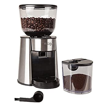 Mr. Coffee Automatic Burr Mill Grinder With 18 Custom Grinds, Silver, Bmh23-rb-1 2