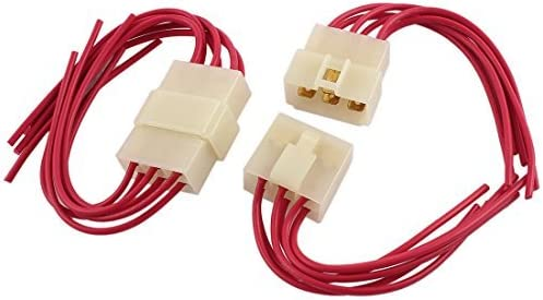 DealMux 2 x auto radio del haz de cables 6 Pin Empalme ...