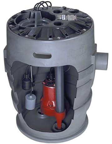 "Liberty Pumps P372LE51 Sewage Pump System, 1/2HP, 115V, 2"" discharge"