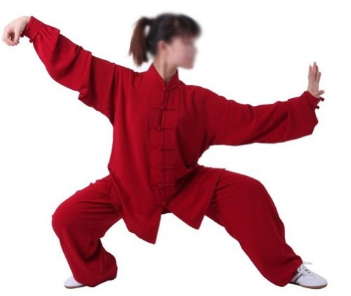 Tai Chi Uniform - luxurious Korean Silk, stretch TaiChi suits, Traditional Tai Chi Clothing for your Tai Chi Exercise, 12 colors and styles, Black, White, Red, Pink, Claret, Shocking Pink, Gold Yellow, Light Yellow, Mazarine, Lake Blue, Light Sky Blue,