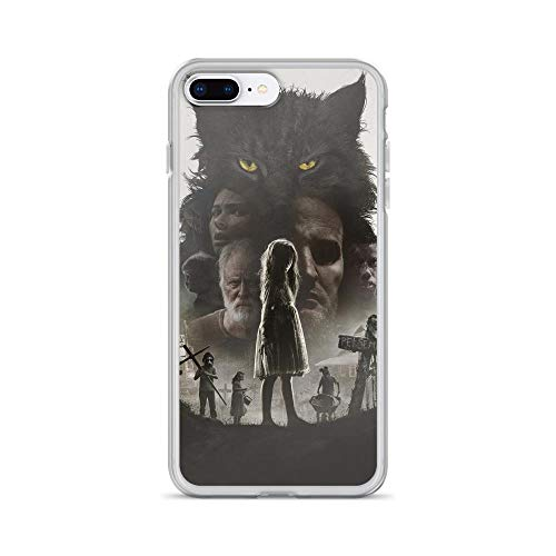 iPhone 7 Plus/8 Plus Pure Clear Case Cases Cover Creepy Graveyard -