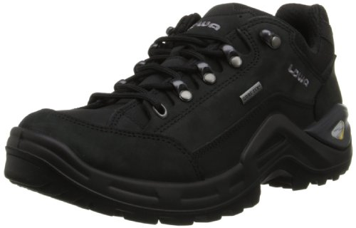 LOWA Boots Lowa Men's Renegade II GTX LO Hiking Shoe,Black/Black,12 M US