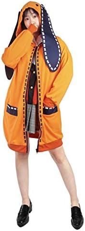 Aoibox Compulsive Gambler Anime Yumeko Jabami Cosplay Costume Full Set