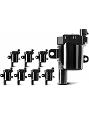 A-Premium Ignition Coil Pack for Chevrolet Tahoe Express Silverado 1500 2500 3500 GMC Hummer Isuzu Buick Cadillac
