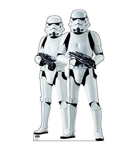 Advanced Graphics Stormtroopers Life Size Cardboard Cutout Standup - Rogue One: A Star Wars Story]()