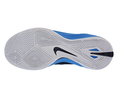 Nike Shox Vital WMN'S - Zapatillas de deporte de cuero para mujer Mdnight Nvy/mtllc Slvr-pht Bl-w