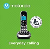 Motorola CD4012 DECT 6.0 Cordless Phone with