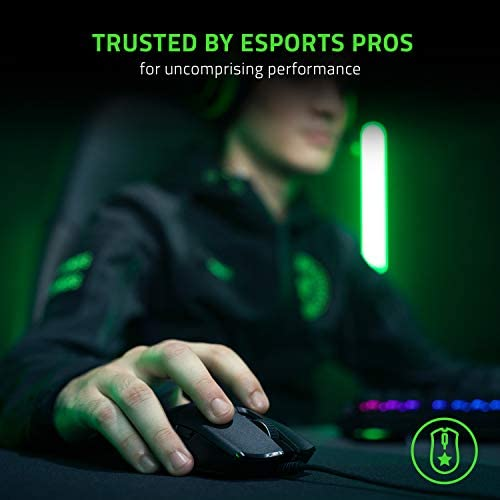 Razer Viper 8KHz Ultralight Ambidextrous Wired Gaming Mouse: Fastest Gaming Switches - 20K DPI Optical Sensor - Chroma RGB Lighting - 8 Programmable Buttons - 8000Hz HyperPolling - Classic Black