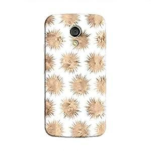 Cover It Up - Sand Star White Moto G2 Hard Case