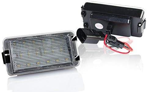 Led Kennzeichenbeleuchtung Nummernschildbeleuchtung Canbus Module Mit E Zulassung V 032601 Auto