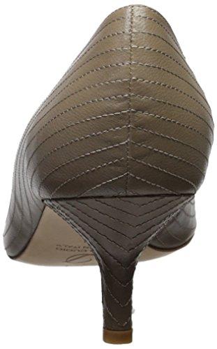 Delman Womens Bene Dress Pump Stone