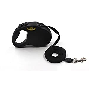 YujueShop-SenGu Automatic Dogs Collar Belt Outdoor Pets Dog Retractable Leash Traction Adjustable Rope Walking Lead… Click on image for further info.