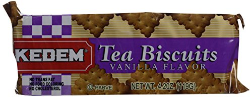 Kedem Vanilla Tea Biscuit, 4.2 oz (Biscuits Flavored)