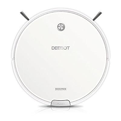 Ecovacs DM82 Deebot Floor Cleaning Robot Vacuum, White