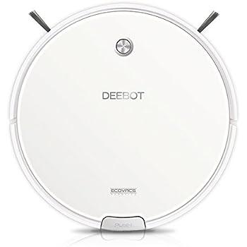 ECOVACS DEEBOT M82 Robotic Vacuum Cleaner Pet Hair, Bare Floors and Low-Pile Carpet