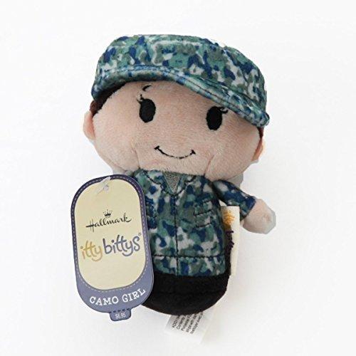 Hallmark itty bittys Blue Camo Girl Stuffed Animal Itty Bittys Patriotic from Hallmark