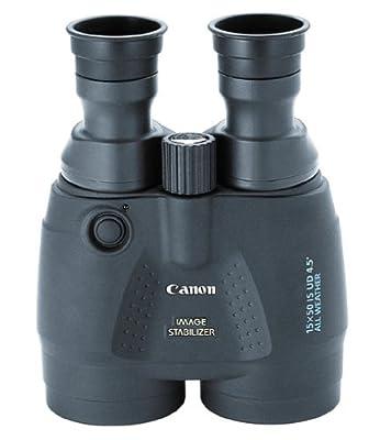 Canon 15x50 Image Stabilization All Weather Binoculars w/Case, Neck Strap & Batteries