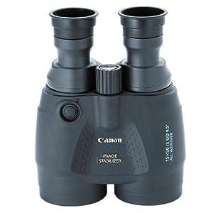 Canon 15×50 Image Stabilization All Weather Binoculars w/Case, Neck Strap & Batteries