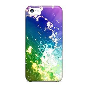 Hot Colors Clouds Hd First Grade Tpu Phone Case For Iphone 5c Case Cover