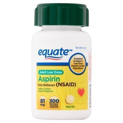 Equate - Aspirin 81 Mg, Adult Low Strength Aspirin Regimen L