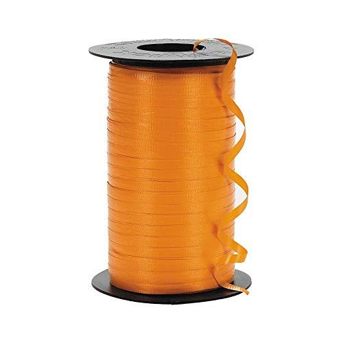 - Fun Express Orange Curling Ribbon (1 roll)