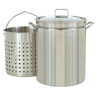 Barbour International 1144 BC 44 qt SS Stockpot