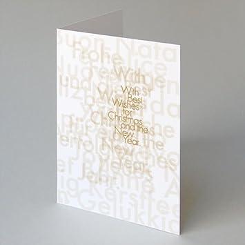 Edle Weihnachtskarten.6 Edle Weihnachtskarten In Din A5 Kerstin Gurke With Best