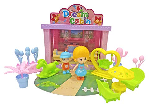 Popsugar Mini Dream Home Cabin with accessores Toy for Kids , latest offers deals