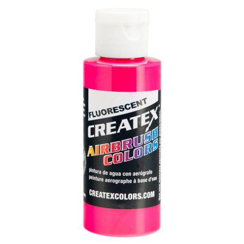 1 Gal. of Createx Fluorescent Magenta #5406-GL CREATEX AIRBRUSH COLORS Hobby Craft Art PAINT by Createx