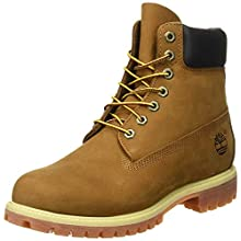Timberland 6-Inch Premium Boot, Botas para Hombre, Marrón (Rust Nubuck), 45 EU
