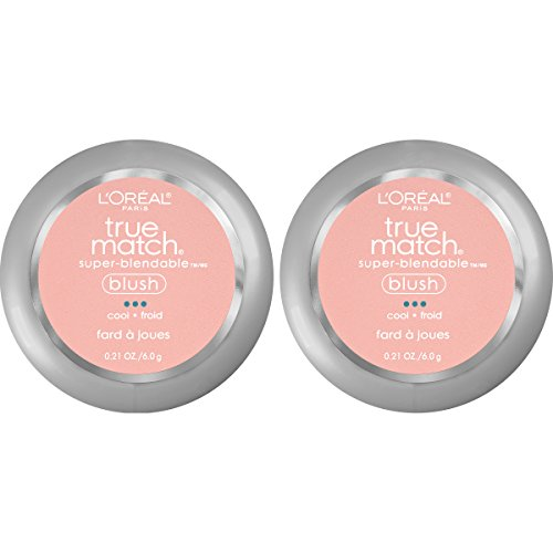 L'Oreal Paris Cosmetics True Match Super-Blendable Blush, Baby Blossom, 2 Count by L'Oreal Paris