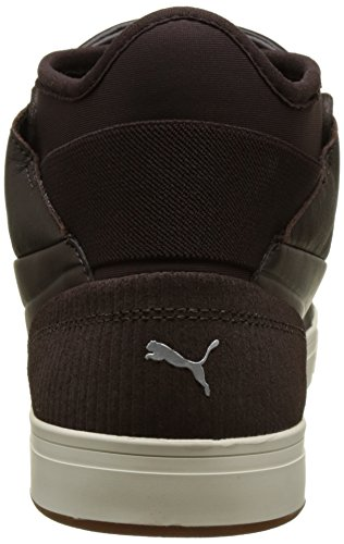 Marrón Coffee Zapatillas whisper White CITI Black Adulto Play Puma 03 Unisex T4x77X