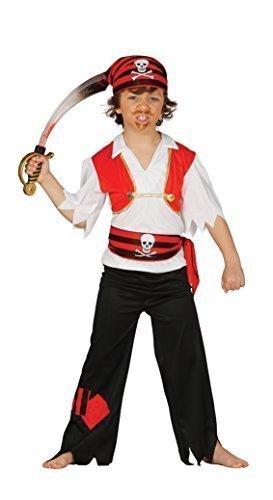 Amazon.com: Disfraz de calavera y cruz de capitán de pirata ...