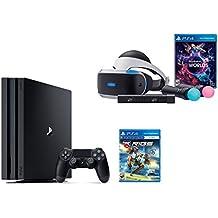 PlayStation VR Launch Bundle 3 Items:VR Launch Bundle,PlayStation 4 Pro 1TB,VR Game Disc RIGS Mechanized Combat League