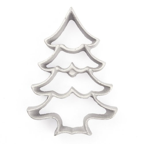 Kitchen Supply 7089 Rosette Iron, Large Christmas Tree