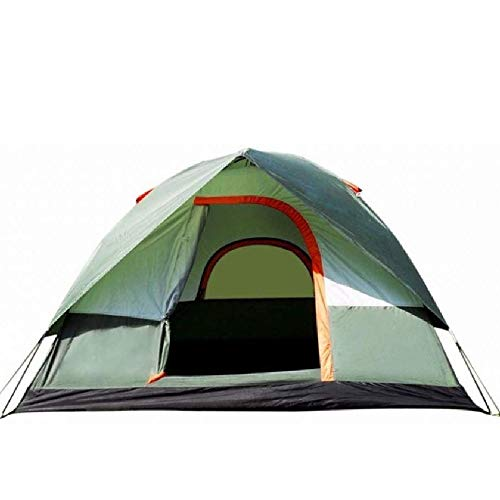 NILINLEI 3-4 Person Windproof Camping Tent Double Waterproof Pop-up Outdoor Travel 200 100 115cm
