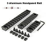 SYWAN Aluminum Alloy Picatinny/Weaver Rails for M-LOK Compatible Systems, M-LOK Picatinny Rails, 5-Slot, 9-Slot,13-Slot
