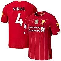 K&A Camiseta Virgil Van Dijk Liverpool Rojo 2019/20