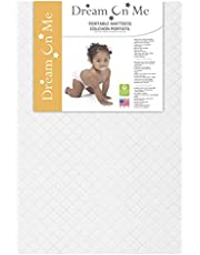 Dream On Me 3-Inch Extra Firm Portable Crib Mattress, White
