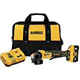 DEWALT 20V MAX XR Angle Grinder, Trigger Switch, Power Detect Tool Technology Kit, 4-1/2-Inch to 5-Inch (DCG415W1)