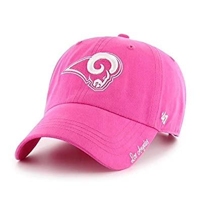 '47 Women's Miata Brand Clean Up Los Angeles Rams Pink Hat