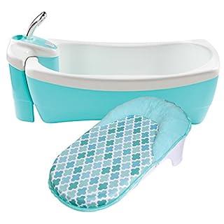 Summer Lil Luxuries Whirlpool Bubbling Spa & Shower Bath Tub, Pink