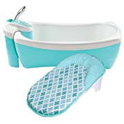 Summer Infant Lil Luxuries Whirlpool, Bubbling Spa & Shower, Blue