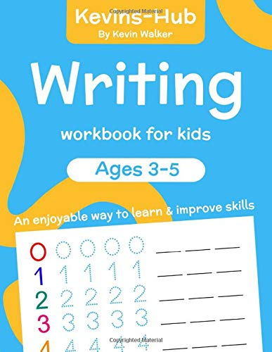 Writing Workbook For Kids  Ages 3 5. An Enjoyable Way To Learn And Improve Skills. Writing Workbook Ages 3 5  Educational Workbooks   Kids Writing Books Band 1
