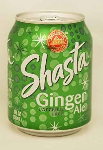 DRINK, SODA GINGER ALE CAN by Shasta