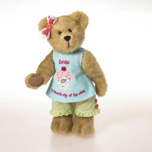 Boyds Bears Plush SPRINKLES SUGARBEARY Ice Cream Social