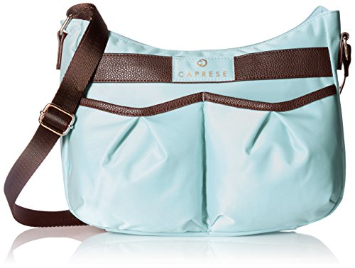 Caprese Bombi Women's Sling Bag (Mint and Brown)