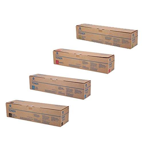 Konica Minolta BIZHUB C3110 Standard Yield Toner Cartridge Set