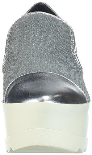 KENDALL + KYLIE Women's Tanya Sneaker, Silver, 8 Medium US by KENDALL + KYLIE (Image #4)